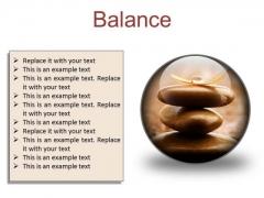 Balance Business PowerPoint Presentation Slides C