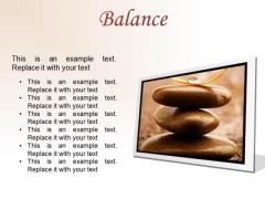 Balance Business PowerPoint Presentation Slides F