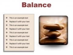 Balance Business PowerPoint Presentation Slides S