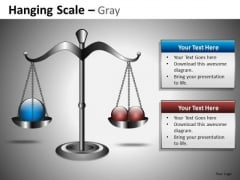 Balancing Balls Weighing Scales PowerPoint Slides And Editable PowerPoint Templates