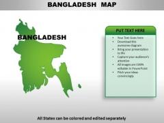 Bangladesh PowerPoint Maps