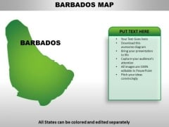 Barbados PowerPoint Maps
