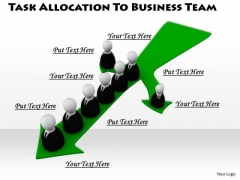 Basic Marketing Concepts Task Allocation To Business Team Images Photos