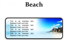 Beach Holidays PowerPoint Presentation Slides R