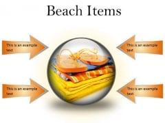 Beach Items01 Holidays PowerPoint Presentation Slides C