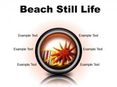 Beach Still Lifestyle PowerPoint Presentation Slides Cc
