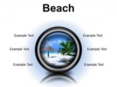 Beach Vacation PowerPoint Presentation Slides Cc