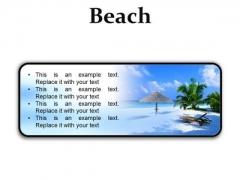 Beach Vacation PowerPoint Presentation Slides R