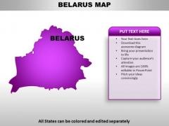 Belarus PowerPoint Maps