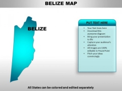 Belize PowerPoint Maps