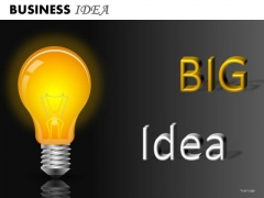 Big Idea PowerPoint Slides And Ppt Template Diagrams