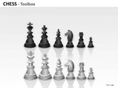 Black Chess Toolbox PowerPoint Slides And Ppt Diagram Templates