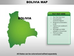 Bolivia PowerPoint Maps