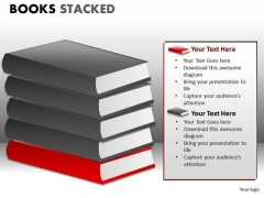 Books Diagrams For PowerPoint