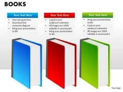 Books Education Business Editable PowerPoint Slides Ppt Templates