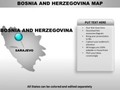Bosnia Country PowerPoint Maps