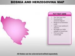 Bosnia PowerPoint Maps
