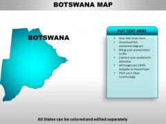 Botswana PowerPoint Maps