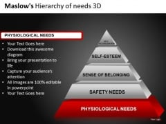 Bottom Layer Of Pyramid 3d PowerPoint Templates Bottom Layers Ppt