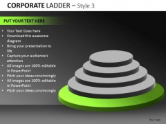 Bottom Level Steps PowerPoint Ppt Templates