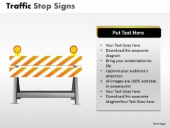 Boundary Traffic Stop PowerPoint Slides And Ppt Diagram Templates