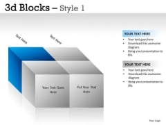 Boxes 3d Blocks 1 PowerPoint Slides And Ppt Diagram Templates