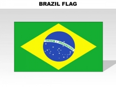 Brazil Country PowerPoint Flags