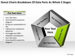 Breakdown Of Data Parts As Whole 5 Stages Agriculture Business Plan PowerPoint Templates