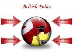 British Police Americana PowerPoint Presentation Slides C