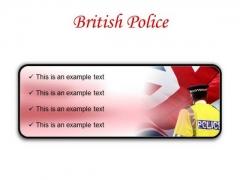 British Police Americana PowerPoint Presentation Slides R