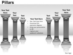 Building Pillars PowerPoint Slides And Ppt Diagram Templates