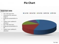 Buisness Leadership PowerPoint Templates Business Pie Chart Data Ppt Slides