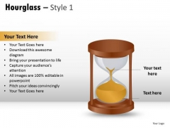 Bulb Clock Hourglass 1 PowerPoint Slides And Ppt Diagram Templates