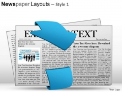 Bundle Newspaper Layouts 1 PowerPoint Slides And Ppt Diagram Templates