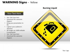 Burning Spirits Warning Signs PowerPoint Slides And Ppt Diagram Templates