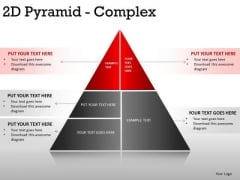 Business 2d Pyramid Complex PowerPoint Slides And Ppt Diagram Templates