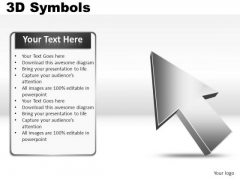 Business 3d Symbols PowerPoint Slides And Ppt Diagrams Templates