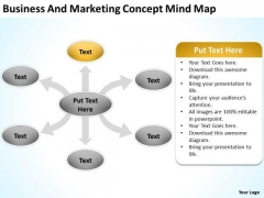 Business And Marketing Concept Mind Map Ppt Sample Continuity Plan PowerPoint Templates