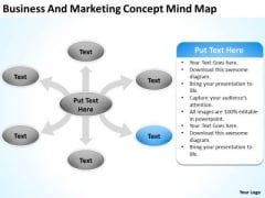 Business And Marketing Concept Mind Map Ppt Succession Planning PowerPoint Slides