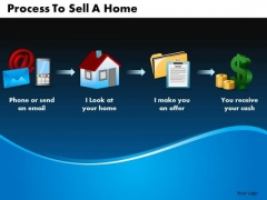 Business Arrows PowerPoint Templates Business Process To Sell A Home Ppt Slides