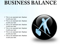 Business Balance Success PowerPoint Presentation Slides C