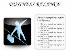 Business Balance Success PowerPoint Presentation Slides S