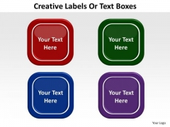 Business Chart PowerPoint Templates Business Creative Labels Or Text Boxes Ppt Slides