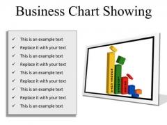 Business Chart Success PowerPoint Presentation Slides F