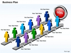Business Charts PowerPoint Templates Parallel Steps Plan For Achieving Results