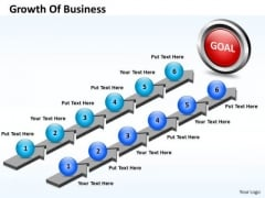 Business Charts PowerPoint Templates Parallel Steps Plan Growth Of
