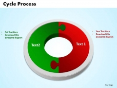 Business Circle Chart PowerPoint Templates Success Lego Blocks Flowchart Ppt Slides