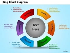 Business Circle Charts PowerPoint Templates Chart Ring Chart Ppt Slides