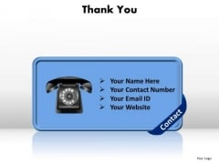 Business Company PowerPoint Templates Business Thank You Ppt Slides