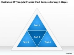 Business Concept 4 Stages Ppt Sample Mission Statements For Plan PowerPoint Slides